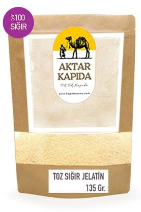 Aktar Kapida Toz Sığır Jelatin 135 Gr. % 100 Saf Sığır ( Domuz Içermez)