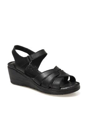 Polaris 161886.Z1FX Siyah Kadın Sandalet 101019857