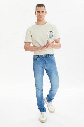 TRENDYOL MAN Mavi Erkek Skinny Fit Jeans TMNSS21JE0497