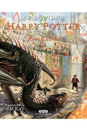 Yapı Kredi Yayınları Harry Potter Ve Ateş Kadehi 4 (resimli Özel Baskı) - J. K. Rowling 9789750848360