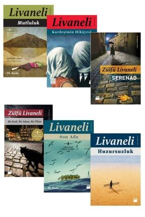 Doğan Kitap Zülfü Livaneli Romanları Seti 6 Kitap