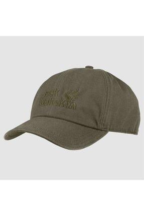 Jack Wolfskin Haki Baseball Cap Spor Ekipmanı Şapka