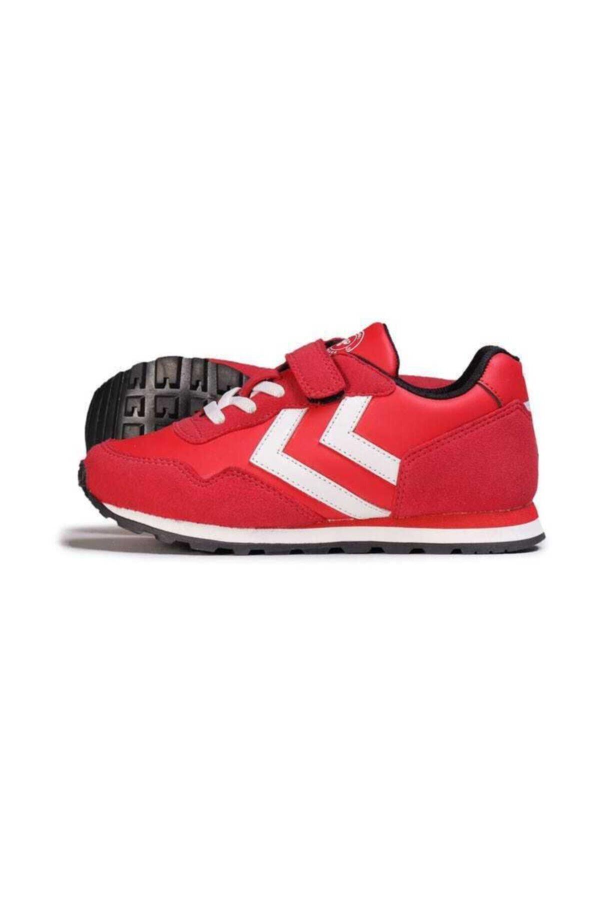 HUMMEL Unisex Çocuk Kırmızı Thor Jr Sneaker 1