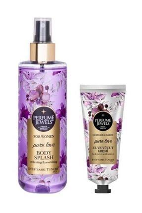 Eyüp Sabri Tuncer Perfume Jewels Pure Love Vücut Spreyi 250 Ml + El Kremi 50ml