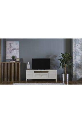 Bellona Beyaz Vilza Tv Sehpası