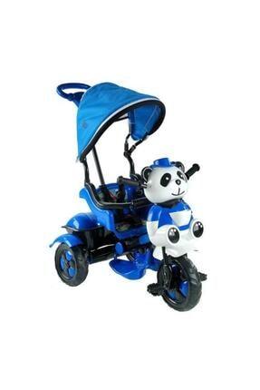 BabyHope Mavi Little Panda 3 Tekerli Kontrollü Bisiklet 127
