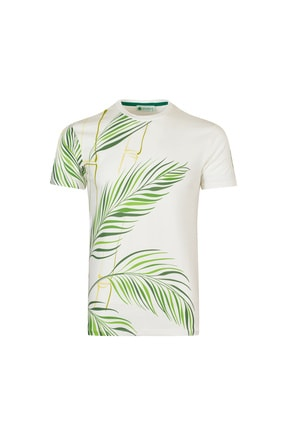 LAYYAGOSTA %100 Pamuk Erkek Sıfır Yaka T-shirt