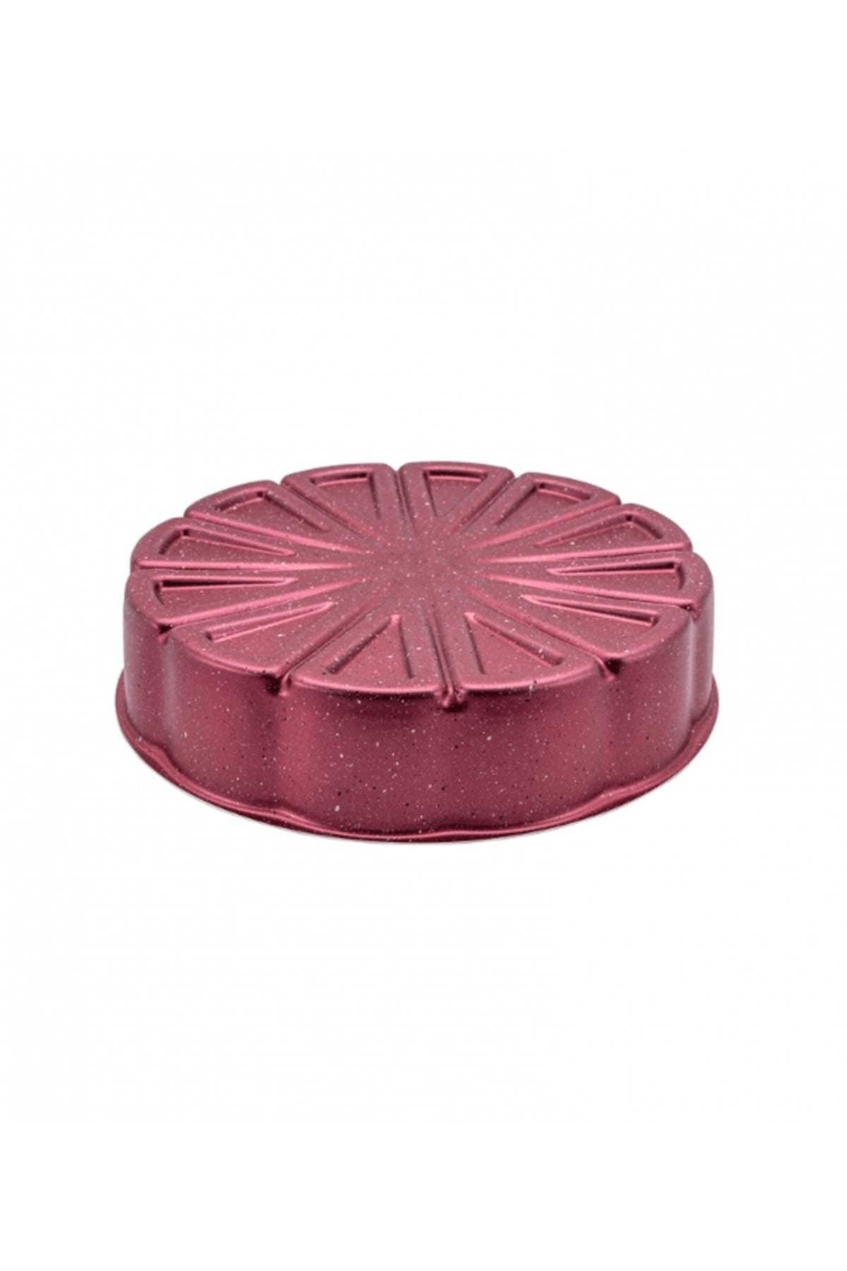 Emsan Pare Portakal Kek Kalıbı 26 Cm Kırmızı