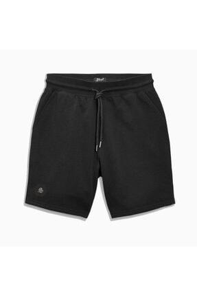 Shout Unisex Siyah Basic Short