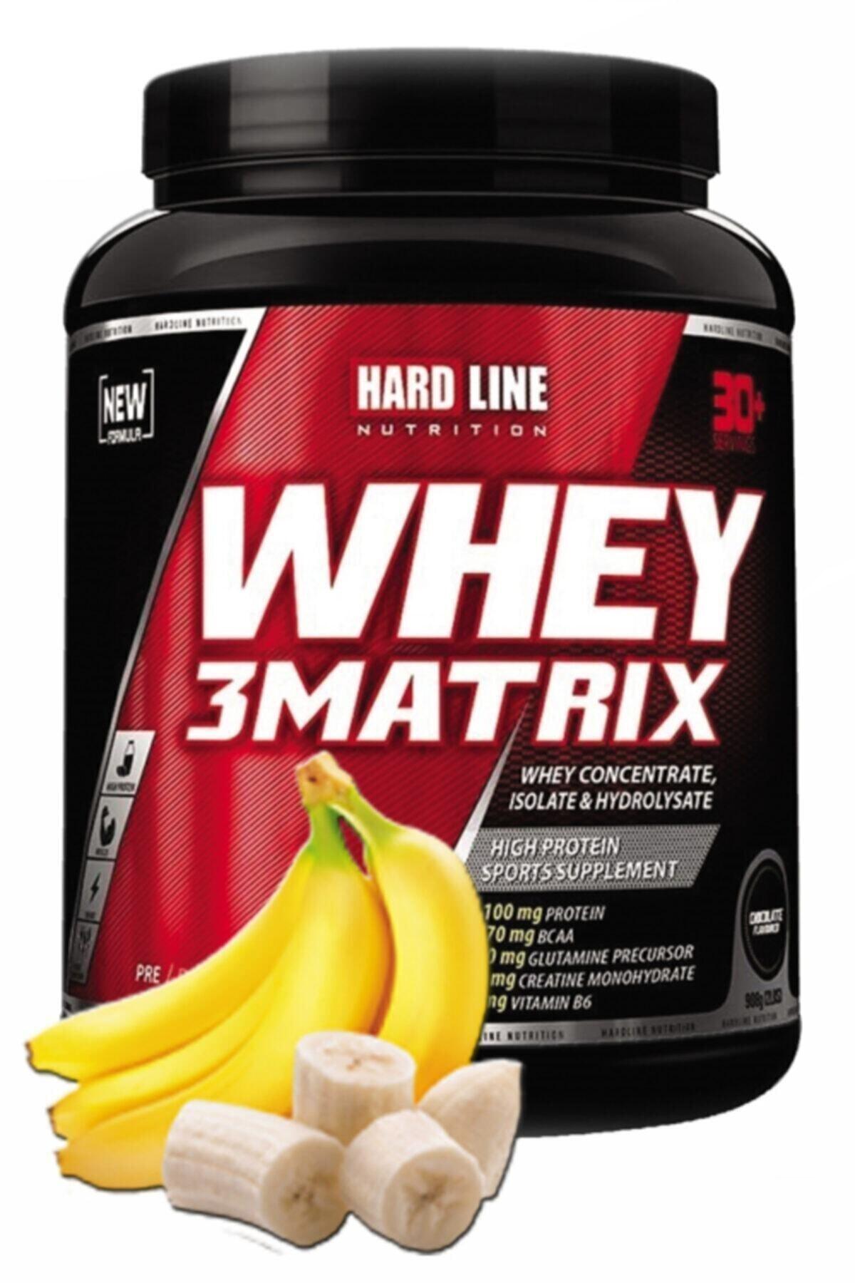 Hardline Whey 3matrix Muzlu Protein Tozu 908 gr 1