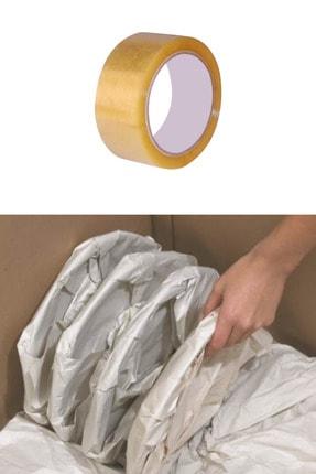 İhtiyaç Limanı Sarma Taşıma Taşınma Paketleme Kağıdı 30x40 100 Adet ,koli Bandı 100 Mt 1 Adet