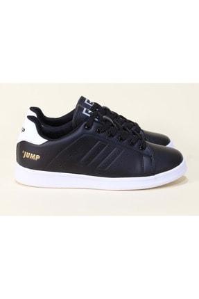 Jump Unısex Siyah Ortopedic Sneakers Ayakkabı 37  15306