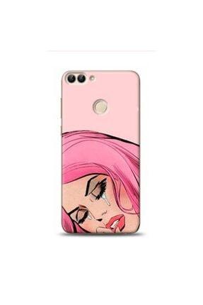 EXCLUSIVE Huawei Honor 9 Lite Aglayan Kiz Pop Art Desenli Telefon Kılıfı