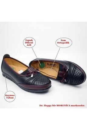 Dr. Happy Kadın Bordo Tam Ortopedik Anne Ayakkabısı 112