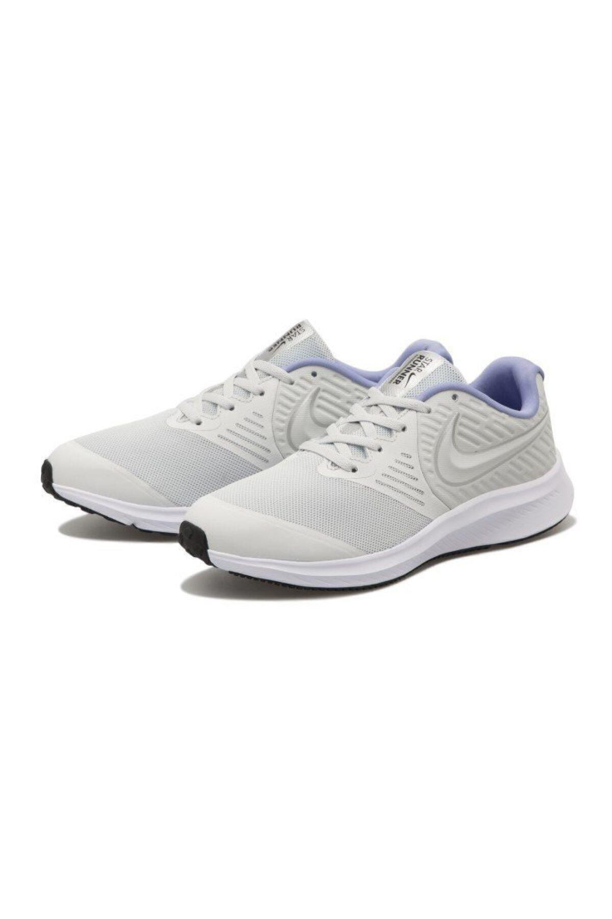 Nike Unisex Beyaz Star Runner 2 Ayakkabı Aq3542-007 2