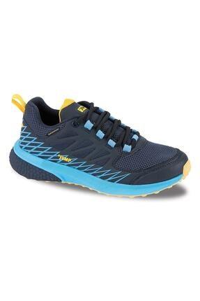 Jump Unisexs Lacivert Mavi Sarı  Waterproff Su Geçirmez Bayan Spor Ayakkabı Bot