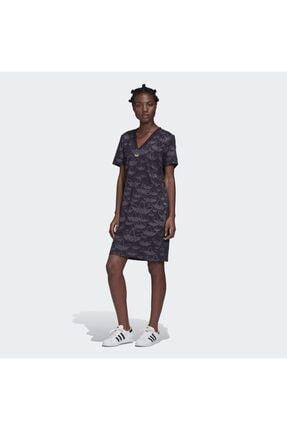 adidas Fm1946 Aop Dress Kadın Elbise