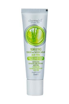 Dermokil Natural El Ve Yüz Bakım Kremi Aloe Vera 25 ml