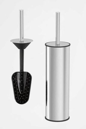 Enjoy Home Paslanmaz Tuvalet Fırçası Deterjan Gerektirmeyen Hijyenik Temizlik Sağlayan Silikonlu Wc Temizleyici