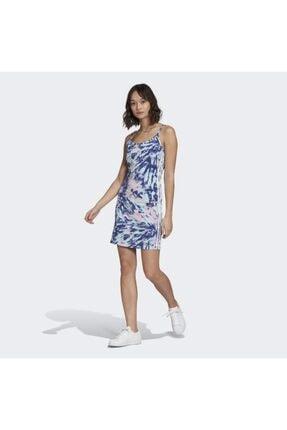 adidas Kadın Mavi Tank Dress Elbise Gl6364
