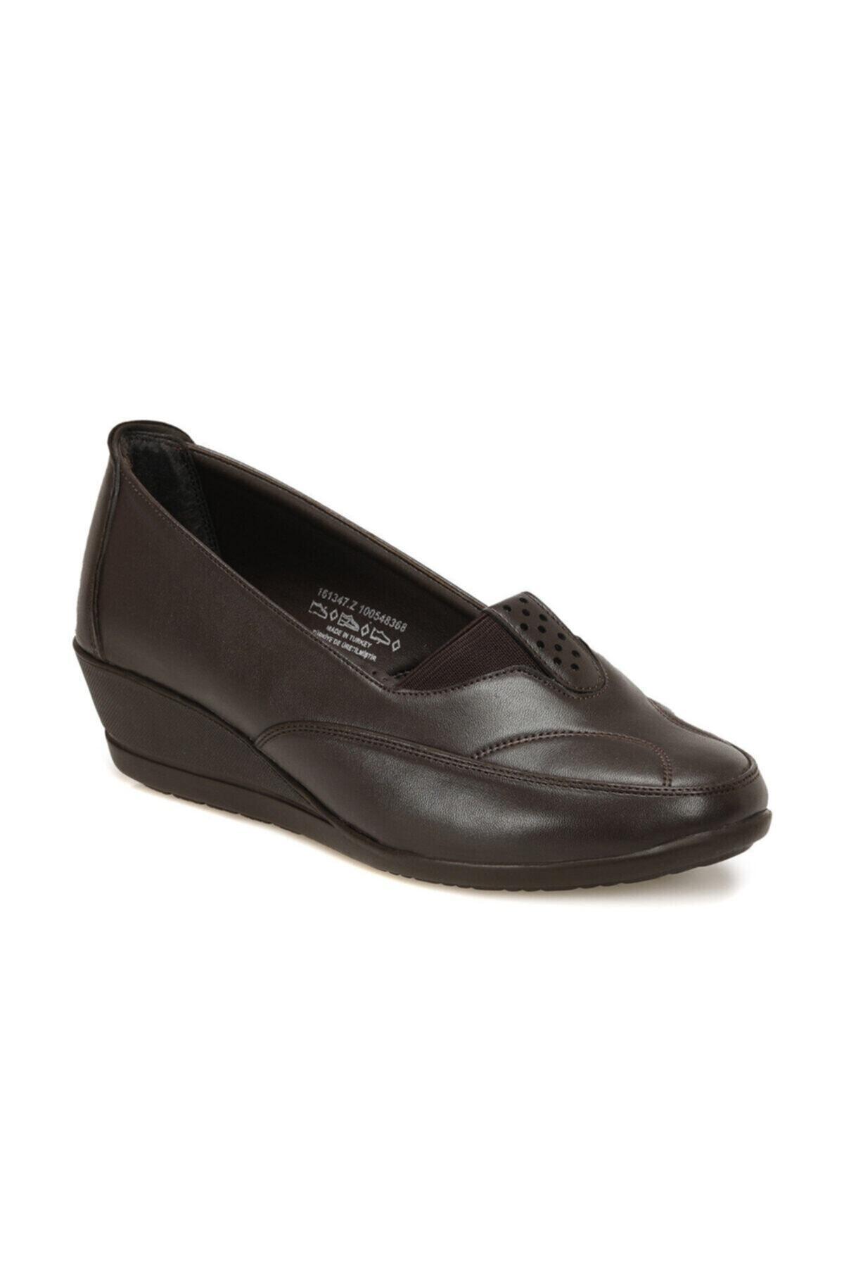 Polaris 161347.Z Kahverengi Kadın Comfort Ayakkabı 100548368 1