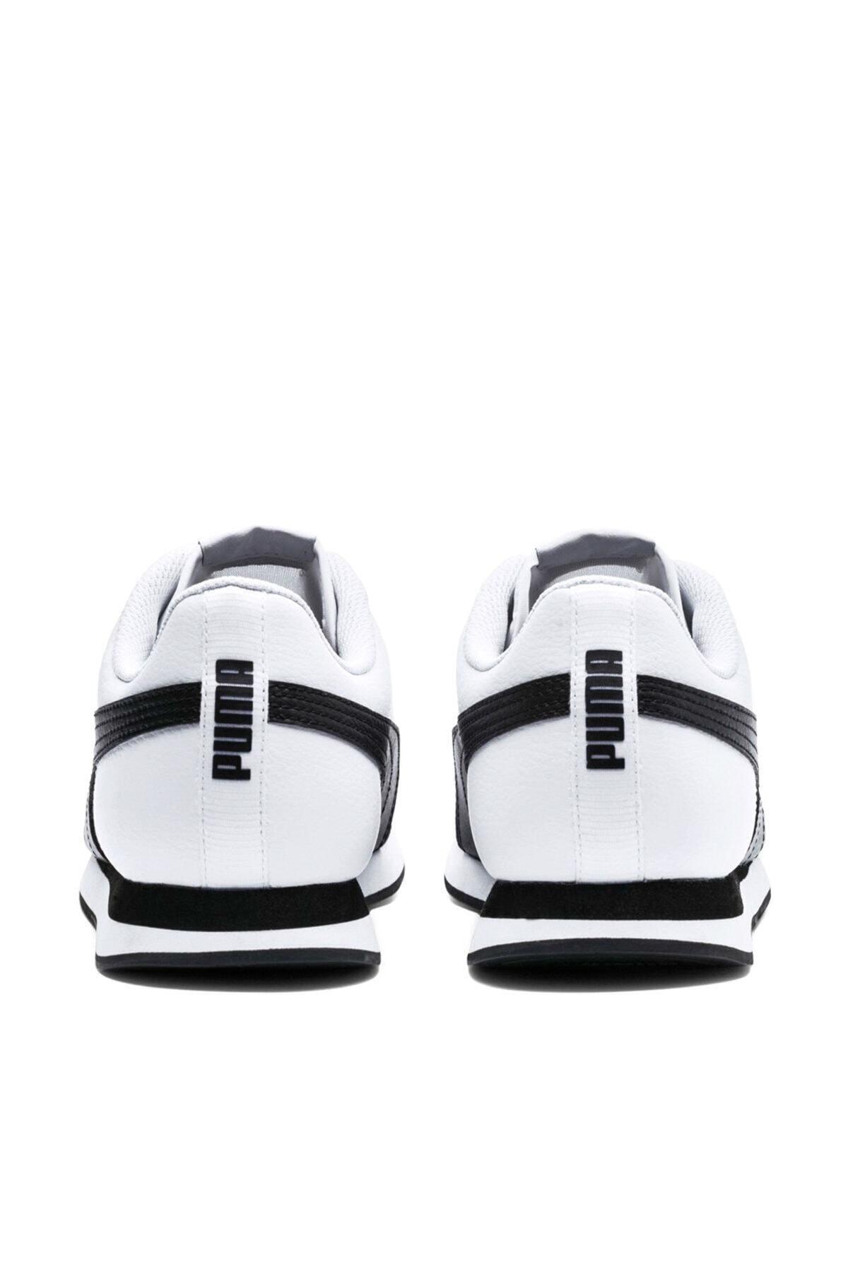 Puma Turin Ii Beyaz Siyah Erkek Sneaker Ayakkabı 100352194 2