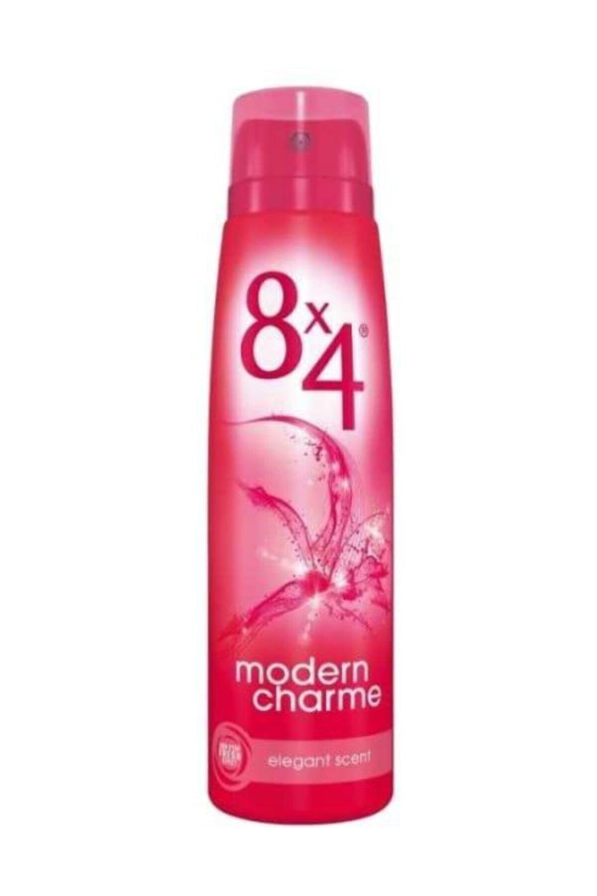 8x4 Modern Charme Sprey Deodorant 150 ml 1