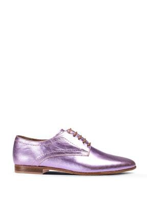 Deery Kadın Lila Hakiki Deri Günlük Ayakkabı