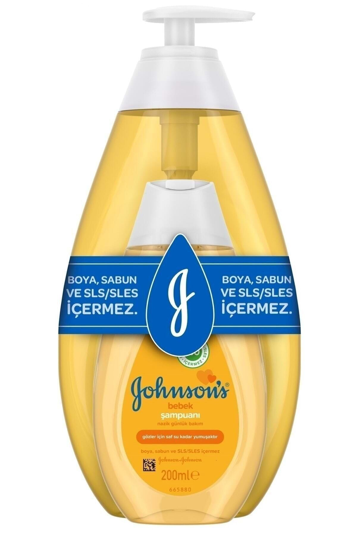 Johnson´s Baby Şampuan 750 ml+ 200 ml 1