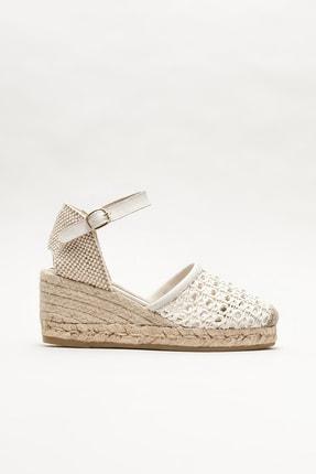 Elle Shoes Kadın Bej Espadril