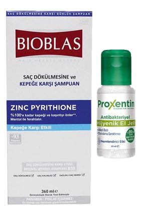 Bioblas Zinc Pyrithione Saç Dökülmesine Ve Kepeğe Karşı Şampuan + 30 Ml Antibakteriyel El Jeli