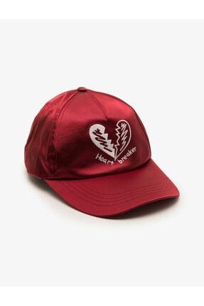 Koton Kadın Bordo Şapka 8YAK45014AA