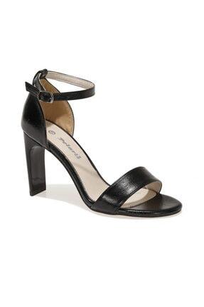 Polaris 317185PZ 1FX Siyah Kadın Topuklu Sandalet 101012660