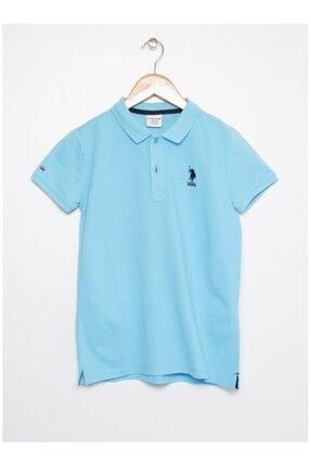 U.S. Polo Assn. Erkek Çocuk Turkuaz  T-shirt