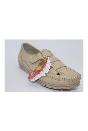 Polaris 61.108754 Comfort Plus Hakiki Deri Kadın Ayakkabı