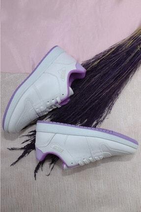 KOSH Kadın Sneaker Spor Ayakkabı Beyaz - Lila
