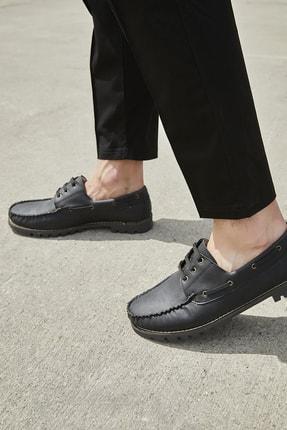 Sateen Men Erkek Siyah Nubuk Ayakkabı