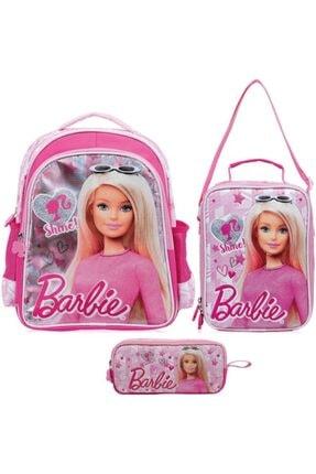 Frocx Barbie Ilkokul Çanta Seti / Shine Pink
