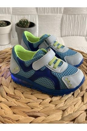 Bambino Erkek Çocuk Mavi Işıklı Spor Ayakkabı
