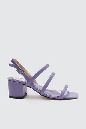 TRENDYOLMİLLA Lila Kadın Klasik Topuklu Ayakkabı TAKSS21TO0096