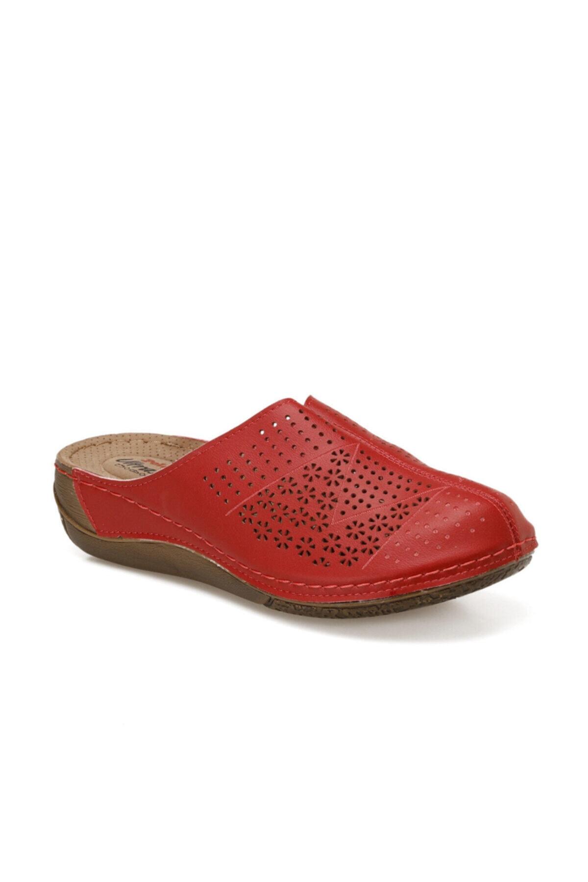 Polaris 91.158560.ZFAS Kırmızı Kadın Terlik 100524616 1