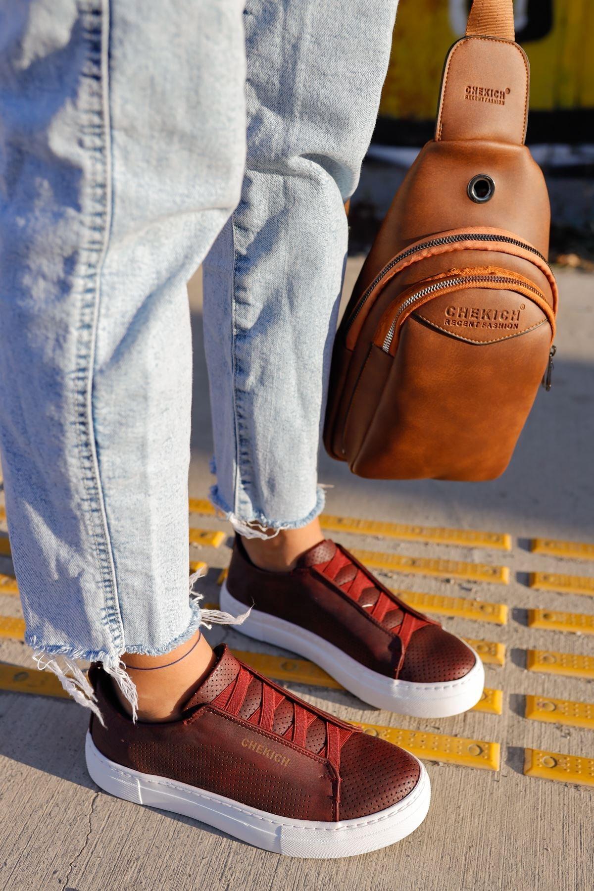 Chekich Ch011 Bt Kadın Ayakkabı Bordo 1