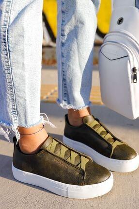 Chekich Ch013 Bt Kadın Ayakkabı Haki