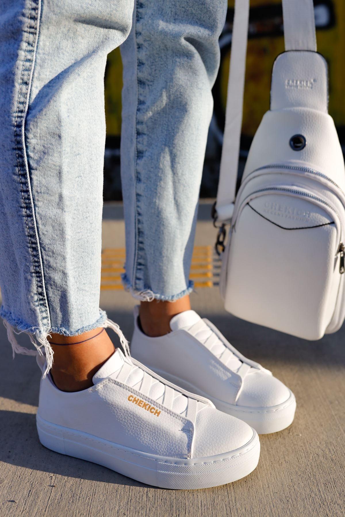 Chekich Ch013 Bt Kadın Ayakkabı Beyaz 1