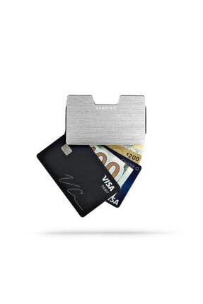 VERBIER Sılver Edıtıon - Metal Kartlık Cüzdan