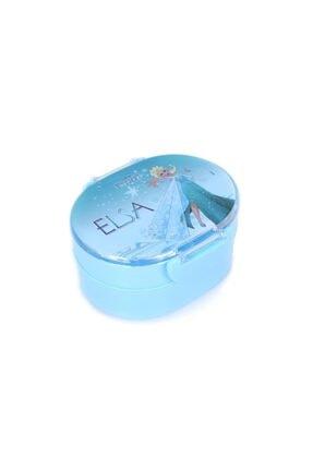 Frozen Disney Elsa Anna Dört Bölmeli Iki Katlı Beslenme Seti
