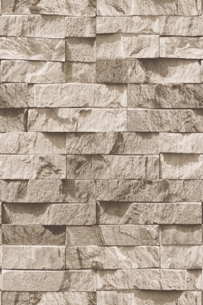 EXCLUSIVE 9300 Taş Desen Duvar Kağıdı (5 M²)