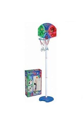 DEDE Unisex Çocuk Beyaz Ayaklı Basketbol Seti