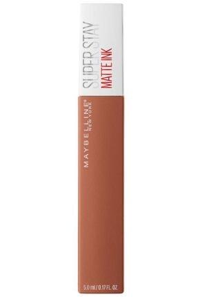 Maybelline New York Likit Mat Ruj - SuperStay Matte Ink Liquid Lipstick 75 Fighter 3600531469436