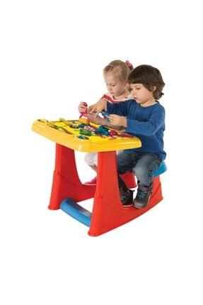 Anka Toyrosso Büyük Aktivite Seti Çalışma Masası Boya Kalemleri Aktivite Kitabı Ve Oyun Hamuru
